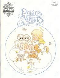 designs gloria u0026 pat precious moments baby book cross stitch