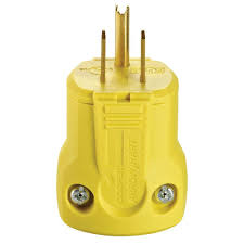 Heavy Duty 15 Amp 2 by Leviton 15 Amp 125 Volt Light Duty Plug R52 00101 0wp The Home Depot