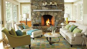 Lodge Style Home Decor by Living Room Traditional Ideas With Fireplace Eiforces