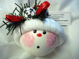 where to buy 2015 diy ornaments ideas soccer hand painted