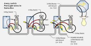 wiring diagrams 3 light switch 3 way switch with outlet four way