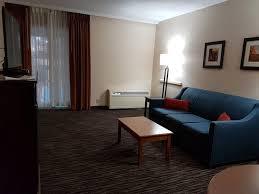 the livingroom the livingroom half of a suite picture of comfort inn