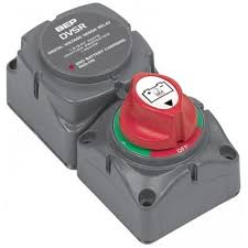 marinco battery switch 1 2 both off cluster with dual sensing