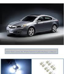 acura amazon com classy autos acura tsx white interior led package 6