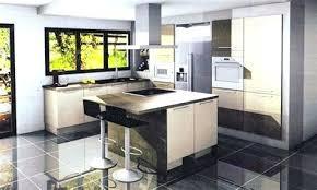modele de cuisine ouverte sur salon decoration cuisine americaine salon amenagement 30m2 pour idees de