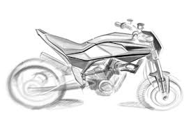 official sketches of 900cc husqvarna streetbike ducati
