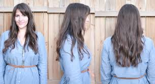 clip in hair extensions for hair before and after hair tutorial diy clip in hair extensions