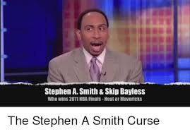 Stephen A Smith Memes - stephen asmith skip bayless who wins 2011 nba finals heator