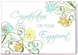 congratulations on engagement card engagement congratulations floral swirls greeting card by dreaming