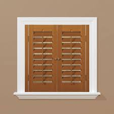 The Home Interiors Faux Wood Shutters Plantation Shutters The Home Depot