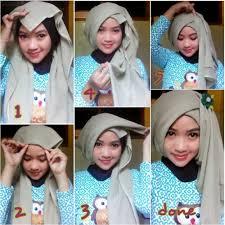 tutorial jilbab segi 4 untuk kebaya cara berhijab segi empat untuk pesta cara berhijab pashmina untuk