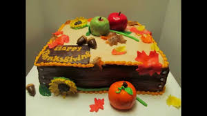 best thanksgiving cake decorating ideas