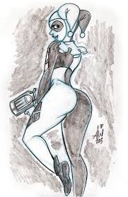 harley quinn daily quick sketches 3 by mainasha on deviantart