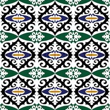 vintage islamic damask background beautiful ornamentation