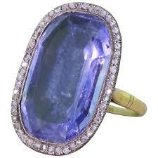 saphire rings superb 25 30 carat ceylon sapphire diamond silver gold