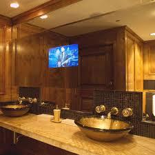 bathroom tv ideas 25 best mirrored bathroom tv s images on mirror