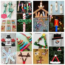 20 popsicle stick christmas crafts for kids these are adorable