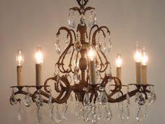 Cheap Chandeliers Ebay Beautiful Vintage 8 Light Crystal Chandelier Made In Spain Italian