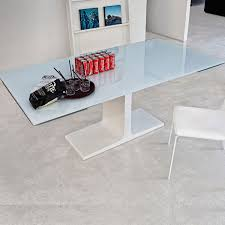Extendable Glass Dining Table Extending Dining Table Sovet Palace Klarity Glass Furniture