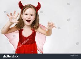 scary cute little halloween costume stock photo 17094934