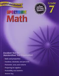 amazon com spectrum math grade 7 9780769636979 thomas