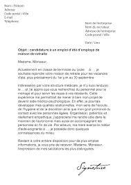 lettre de motivation femme de chambre sans exp駻ience lettre de motivation d été maison de retraite modèle de lettre