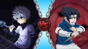 vs sasuke killua vs sasuke