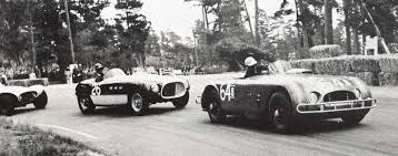 first ferrari ferraris and the pebble beach races with michael t lynch