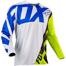 kawasaki motocross jersey fox 2017 360 creo white yellow kids gear set at mxstore