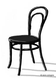 Esszimmerstuhl Flieder Stuhl Nr 14 By Michael Thonet Product Rendering And Sketching