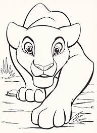 cartoon printable disney coloring pages lion king coloring tone