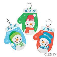 mitten christmas ornament craft kit