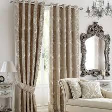 Curtain Pole Dunelm Versailles Natural Lined Eyelet Curtains Dunelm