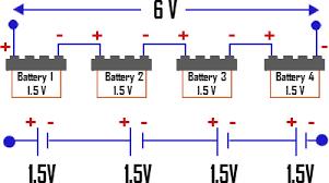 batteries in series batteries in parallel tutorvista com