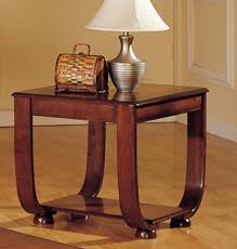Curved Nightstand End Table Coffee Table Curved Legs Matching End Table And Console
