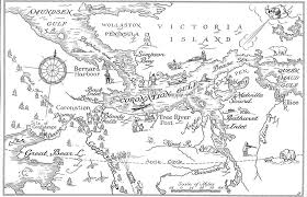 Maps Of Canada by The Stunning Illustrated Maps Of Early Cartographer Wilfrid Flood