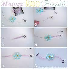 make bead flower bracelet images How to make flower beaded bracelets adventures of a diy mom jpg