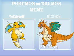 Pokemon Memes En Espa Ol - pokemon digimon meme dragonite by greekgodapollosfart on deviantart