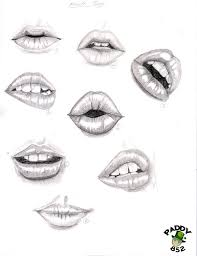 step by step lip drawing tutorial google search drawing tips