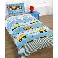 bedding set fabulous construction truck toddler bedding lovely