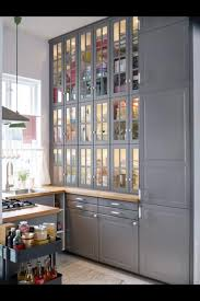 Glass Door Wall Cabinet Kitchen Image Result For Antique Kitchen Built In Floor To Ceiling Glass
