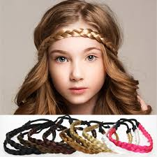 braid hairband girl kids braid hair band fashion hair
