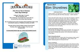 march 2017 newsletter elim shores