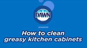 how to clean greasy kitchen cupboards how to clean greasy wood kitchen cabinets in 5 easy steps