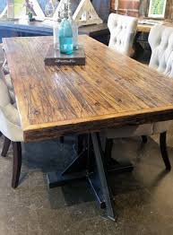 gray reclaimed wood dining table reclaimed dining tables for sale