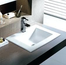 overmount bathroom sinks bathroom fixtures metal brushed copper