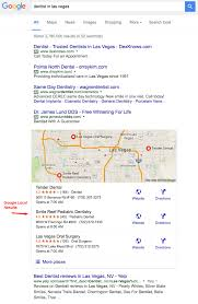 Google Maps Las Vegas Nv by 10 Ways For Dentists To Improve Their Google Local Search Rankings