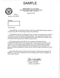3 jrotc activation letter 6th bde jrotc supply
