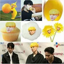 Yellow Meme - yugyeom s hair memes got7 amino
