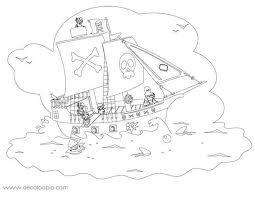 coloriage bateau pirate playmobil
